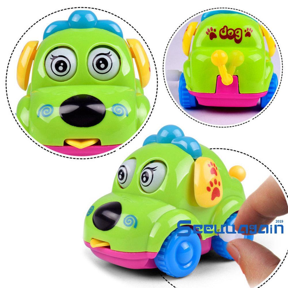 ❥☀✿SEE1 pc Mini Car Baby Toddlers Kids Clockwork Educational Toys Learning Funny Toy Gift