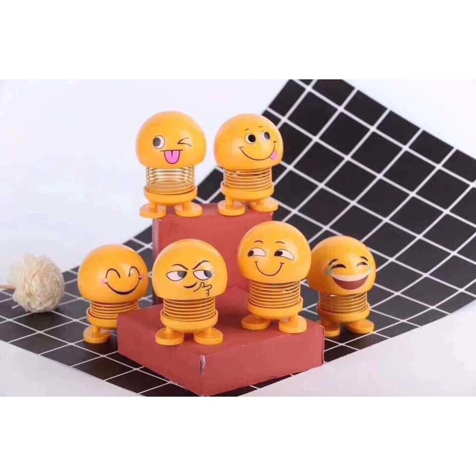 Bán Sỉ 50 con Emoji lò xo - Hàng chuẩn loại 1 cao cấp, Emojji nhún
