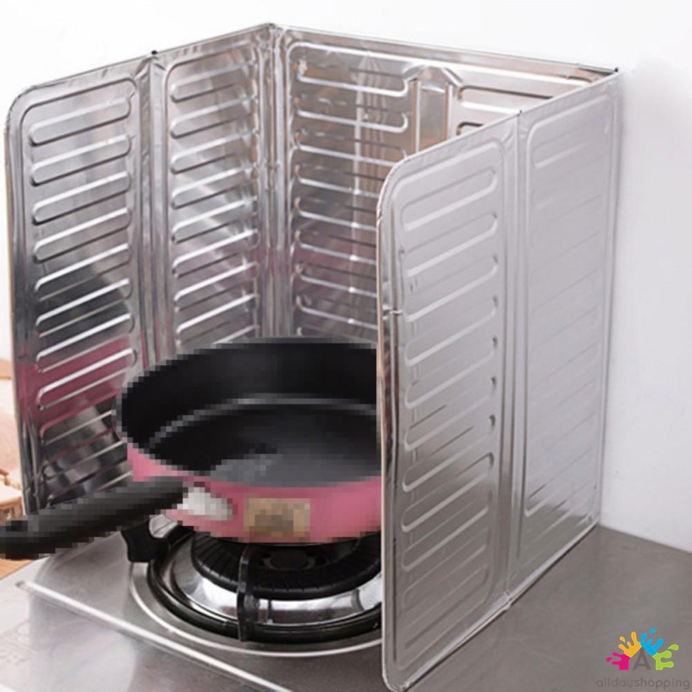 Tấm lá nhôm che chống dầu mỡ cách nhiệt tiện dụng nấu ăn