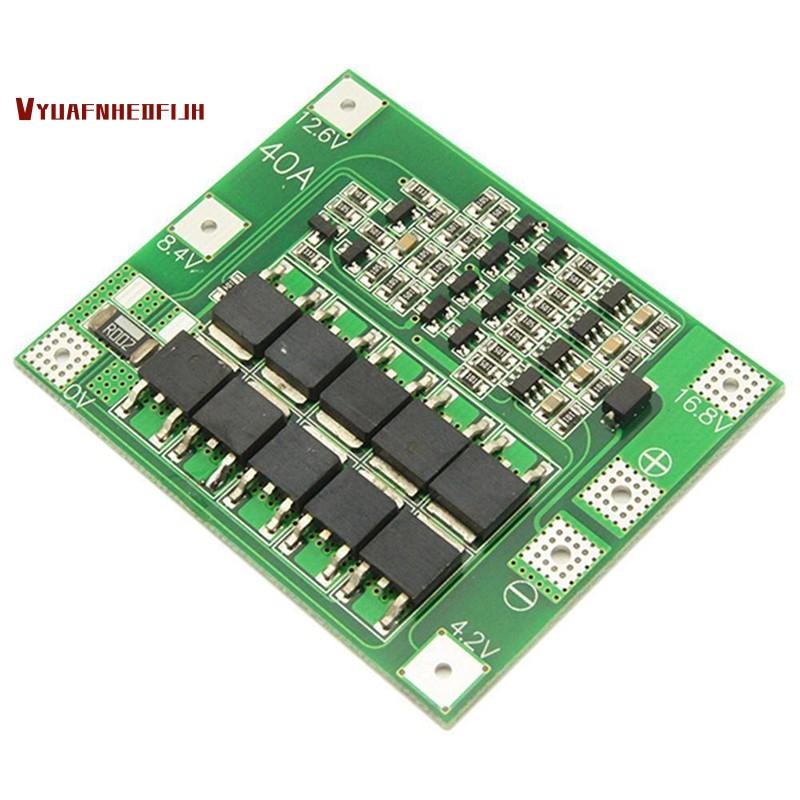 Bảng mạch bảo vệ pin Lithium 3S 12.6V 18650 chuyên dụng