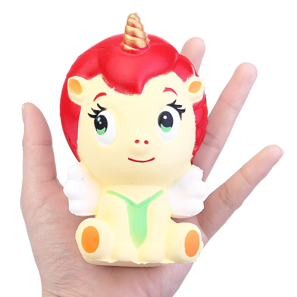 Unicorn Girls Squishy Jumbo Slow Rising Rebound Toys With Gift Collection