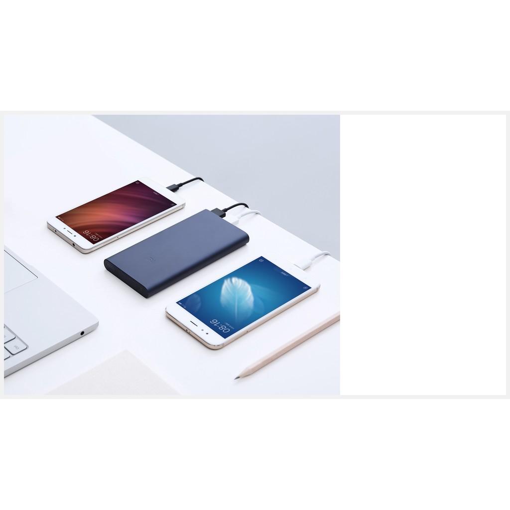 Pin sạc dự phòng Xiaomi 2S 10000mAh (Gen 2 New - 2018) - Hàng chính hãng DGW