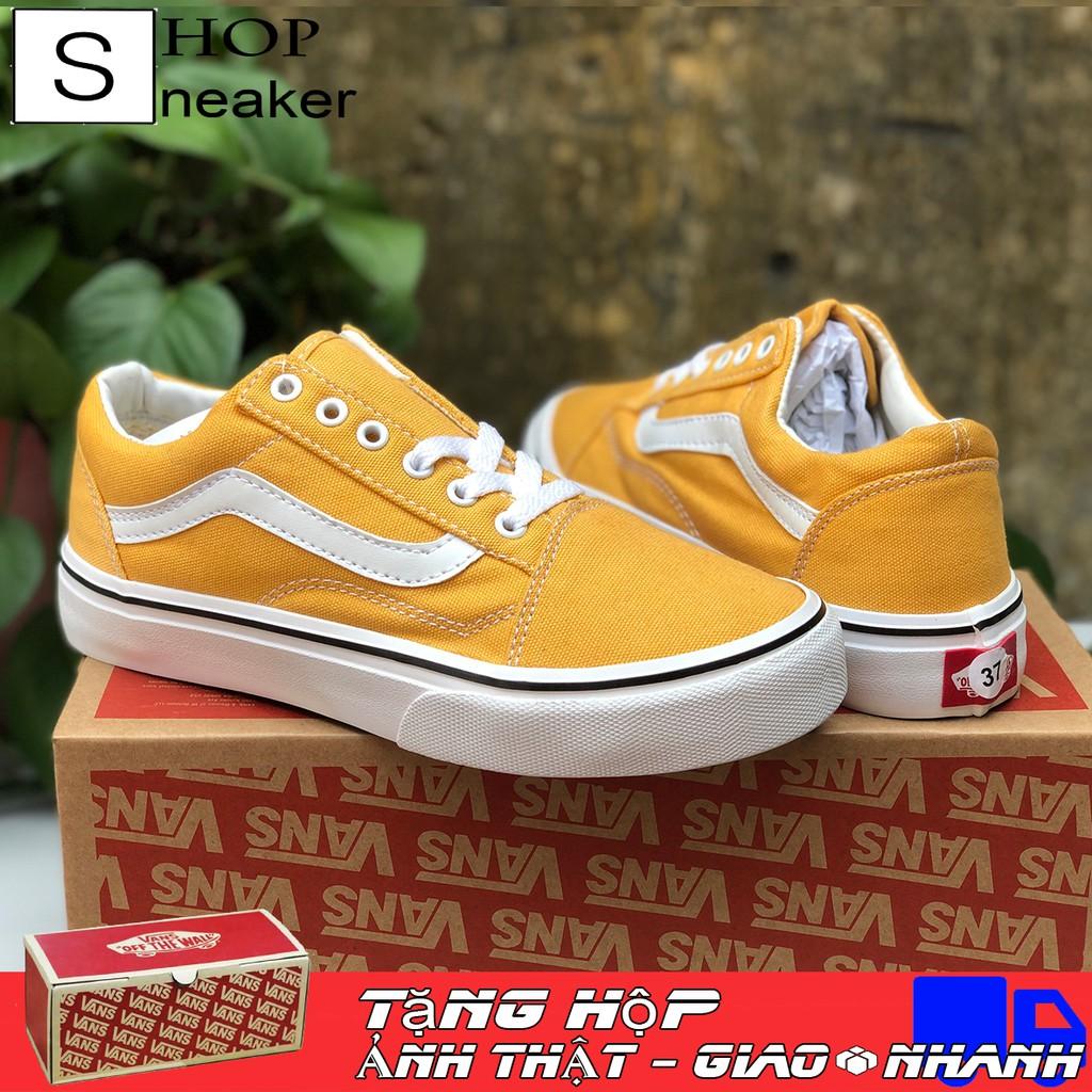 [Shop Sneaker] Giày Thể Thao Vans Old Skool Màu Vàng Đủ Size