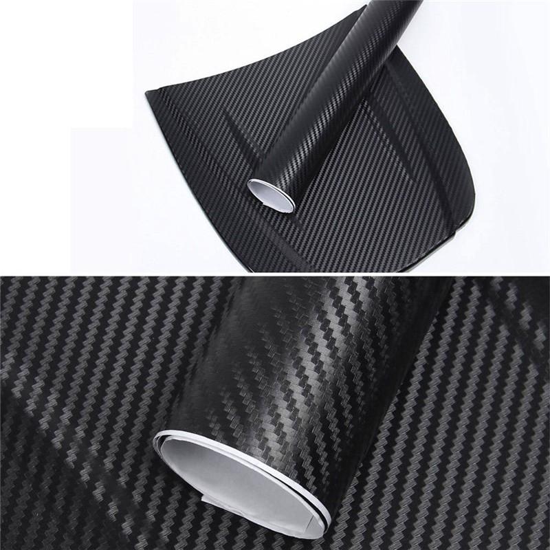 Cuộn giấy dán sợi carbon 127*30cm dùng trang trí xe hơi
