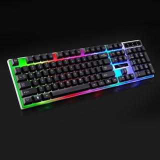 Bàn Phím Cơ Gaming G21 Có Đèn Nền Nhiều Màu thumbnail