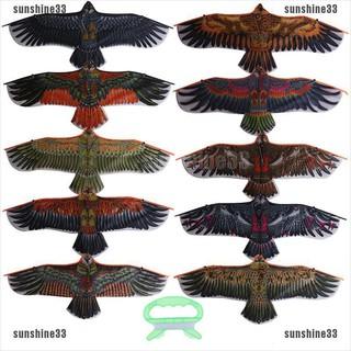 【COD•suns】Color Random Outdoor Children Flying Bird Kites 1.1m Flat Eagle Kite