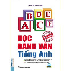 sách Học đánh vần tiếng Anh