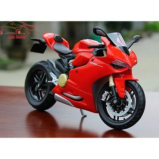 Xe mô hình siêu xe Ducati 1199 Panigale tỉ lệ 1:12