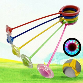 [Hot Sale] LED Flashing Jumping Ring Ankle Skip Jump Ropes Sport Swing Ball Jump Ropes