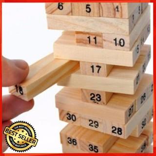 [HÀNG MỚI] Bộ Đồ Chơi Rút Gỗ 48 Thanh – Domino gỗ [ CÓ SẴN]