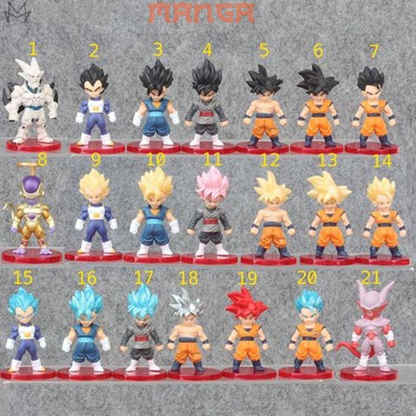 [CÓ QUÀ] Mô hình Bảy Viên Ngọc Rồng Dragon Ball Son Goku Gogeta Shenron Gohan Frieza Vegeta Cooler Super Saiyan God SSJ