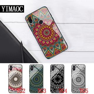 Ốp Lưng Tráng Gương Cho Huawei Y6 Prime Y9 Mate 20 Pro Honor 8x 9 10 Lite 51a