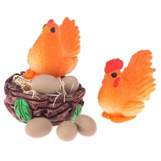 Bộ Mô Hình Trứng Gà Mini Tỉ Lệ 1: 12 Trang Trí Nhà Búp Bê
