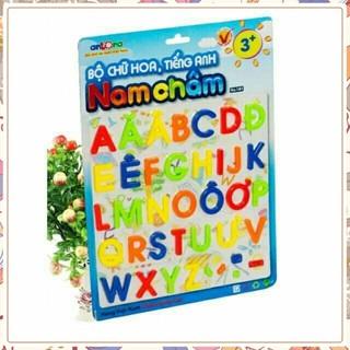 Bộ chữ số/hình học nam châm Antona(vn) bảng ghép nam châm có số và chữ education board