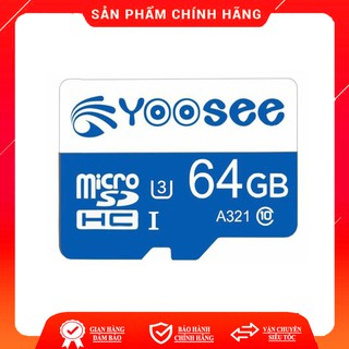 Thẻ nhớ YOOSEE 64GB U3 Class 10 chuyên dụng cho camera wifi và điện thoại