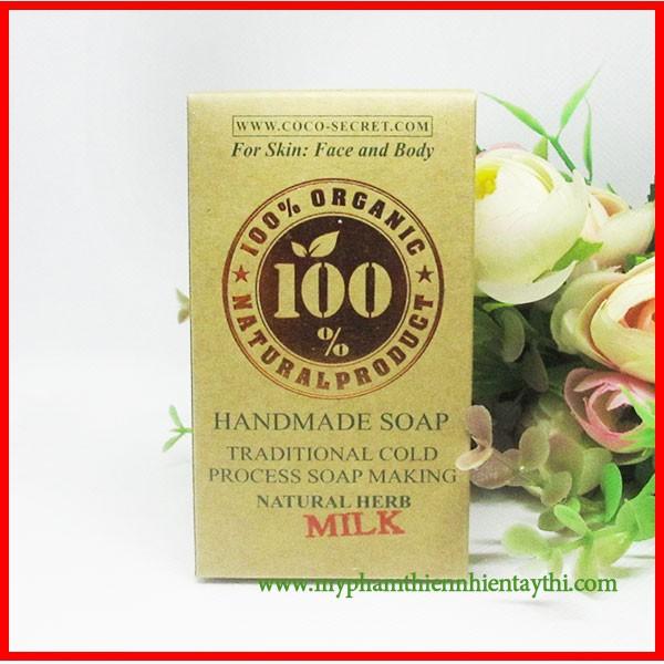 Xà Bông Dừa Coco-Secret Đủ Mùi