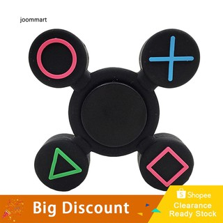 ★Ready Stock★Geometric Fidget Silicone Hand Spinner Finger Toy EDC Focus Fingertip Gyro Gift