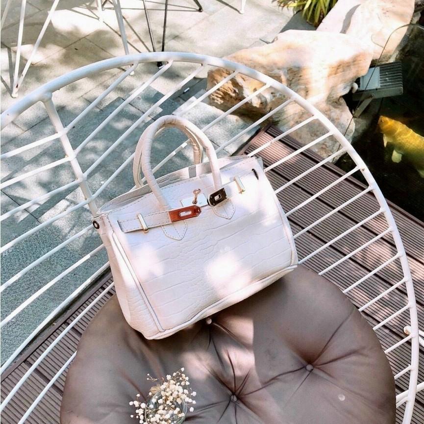 Túi xách nữ công sở da rằn túi công sở thời trang hàng đẹp HMQC05 + ảnh thật