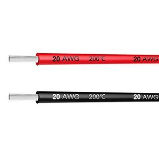 [HCM] – Dây điện Silicon 20AWG lõi Niken vỏ chịu nhiệt 200 độ chuyên dùng trong RC Pin Lipo PDB ESC Quadcopter (0.5m)