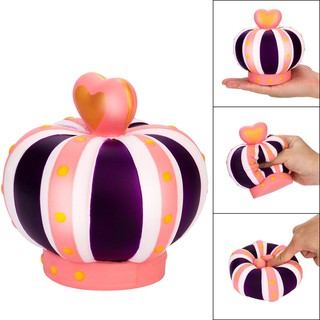 Jumbo Squishy 14cm Super Big Crown Super Slow Rising Squeeze Collection Toy Gift