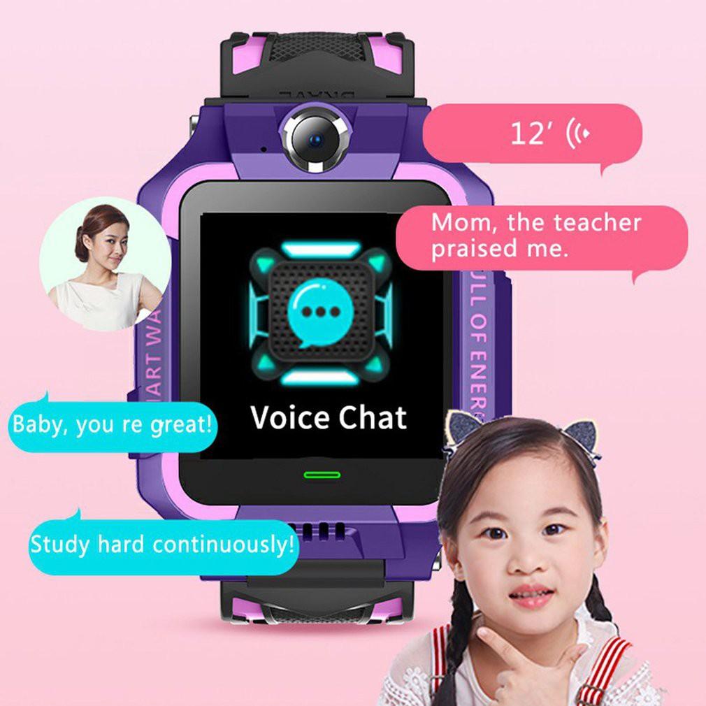 Ele】⚡⚡Q19 Đồng hồ thông minh trẻ em Vị trí chính xác Vị trí điện thoại Đồng hồ định vị trẻ em SOS Đồng hồ thông minh trẻ em chống thất lạc Màn hình cảm ứng dành cho trẻ em