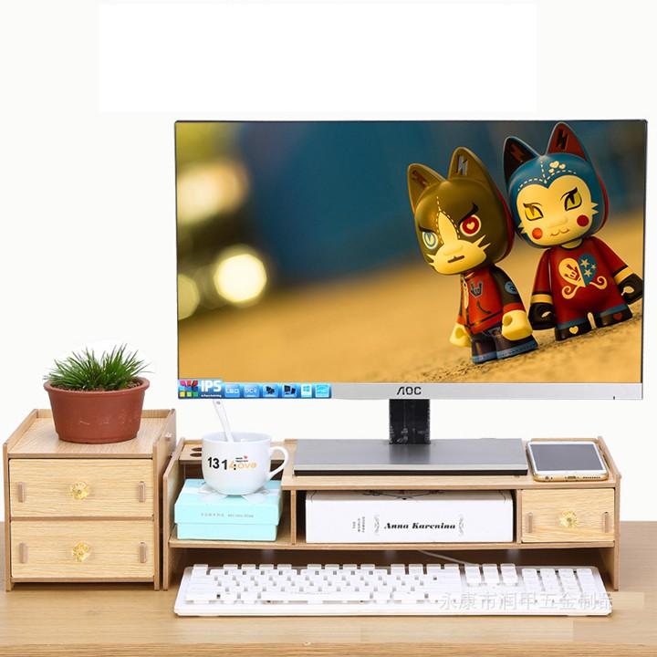 Kệ màn hình gỗ lắp ghép 2 tầng có ngăn tủ phụ RE0066 - 15352764 , 1660895619 , 322_1660895619 , 320000 , Ke-man-hinh-go-lap-ghep-2-tang-co-ngan-tu-phu-RE0066-322_1660895619 , shopee.vn , Kệ màn hình gỗ lắp ghép 2 tầng có ngăn tủ phụ RE0066