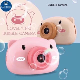 Đồ chơi máy ảnh thổi bong bóng xà phòng cho bé [Hàng có sẵn]