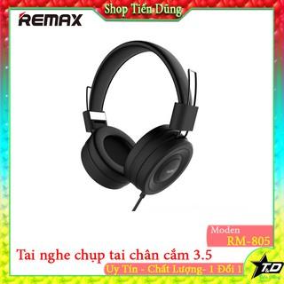 Tai nghe chụp tai remax RM-805 chính hãng có mic tiện nghe nhạc đàm thoại cách âm tốt chống ồn