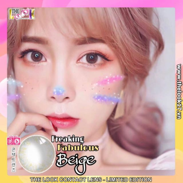 CONTACT LENS TONE BEIGE - TONE TANIN - LIMITED