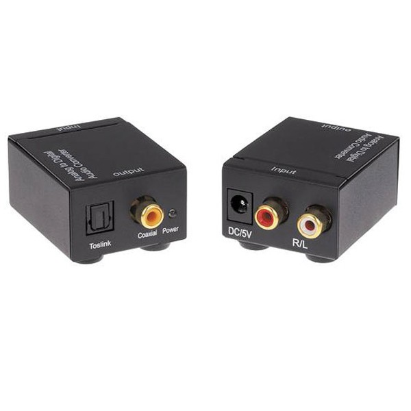 Combo 10 bộ chuyển đổi quang Optical sang loa amply tặng nguồn và dây quang