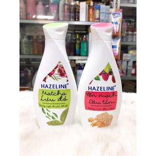(230ml) Sữa dưỡng thể sáng da mềm mịn HAZELINE chính hãng công ty thumbnail