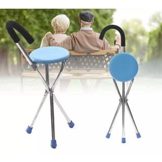 Ghế ngồi 3 chân 2 trong 1 có thể gấp gọn tiện dụng cho người lớn thumbnail