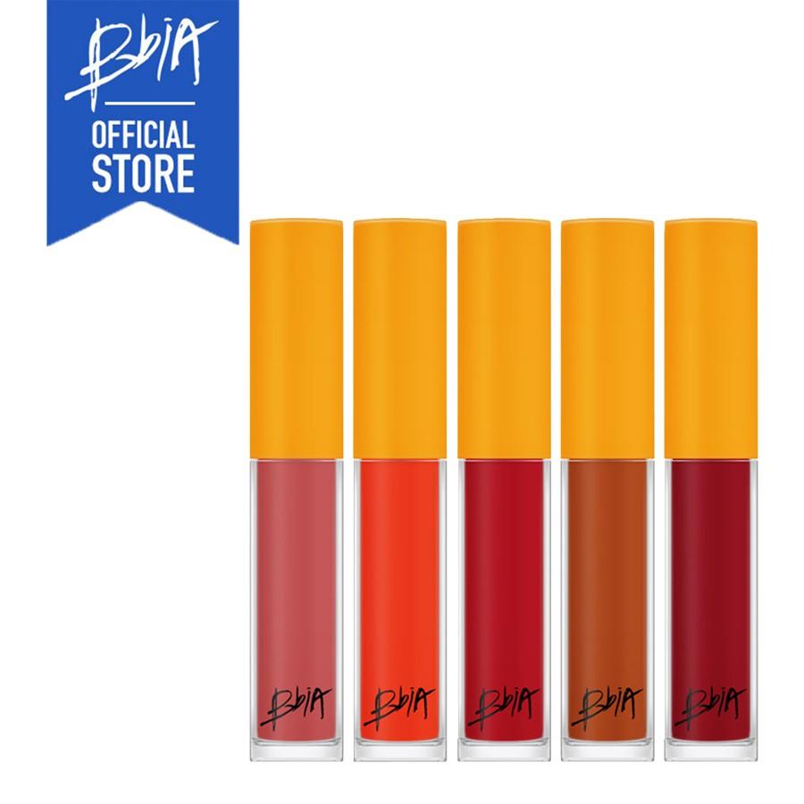 [Mã COSMALL giảm 10% đơn từ 200k] [DIỆN MẠO MỚI] Son kem lì Bbia Last Lip Mousse Version 2 3.7g