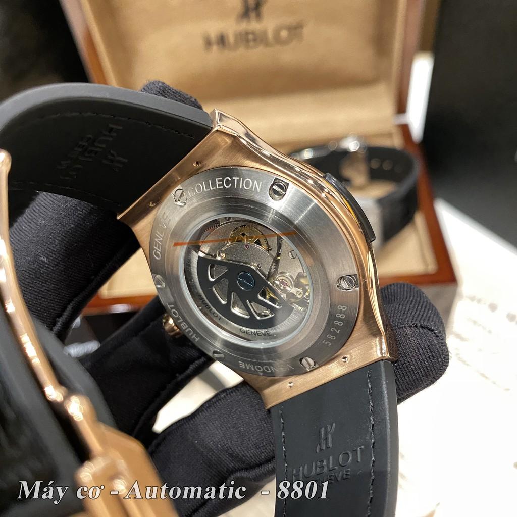Đồng hồ nam HL Classic-42mm MÁY CƠ SIÊU CẤP chống nước bảo hành 24 tháng có hộp hãng