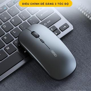 Hình ảnh Chuột không dây Bluetooth tự sạc pin SIDOTECH M1P không tiếng click sạc 1 lần dùng 1 tuần cho Laptop macbook PC Tivi-6
