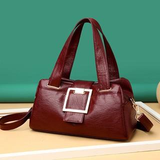 Túi xách đeo vai da cỡ lớn nhiều ngăn thời trang sành điệu