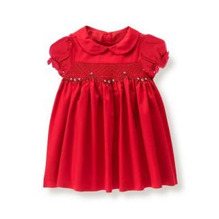 Đầm smock hoa Neck&Neck cho bé gái 2-10T D1195