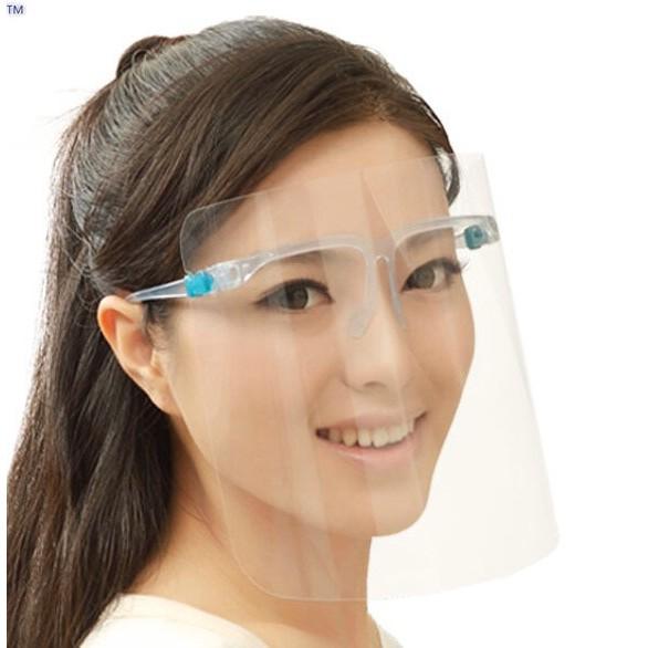 Mắt kính bảo hộ - Kính chắn giọt bắn phòng chống bụi, VIRUT (Face Shields) - An toàn cho sức...