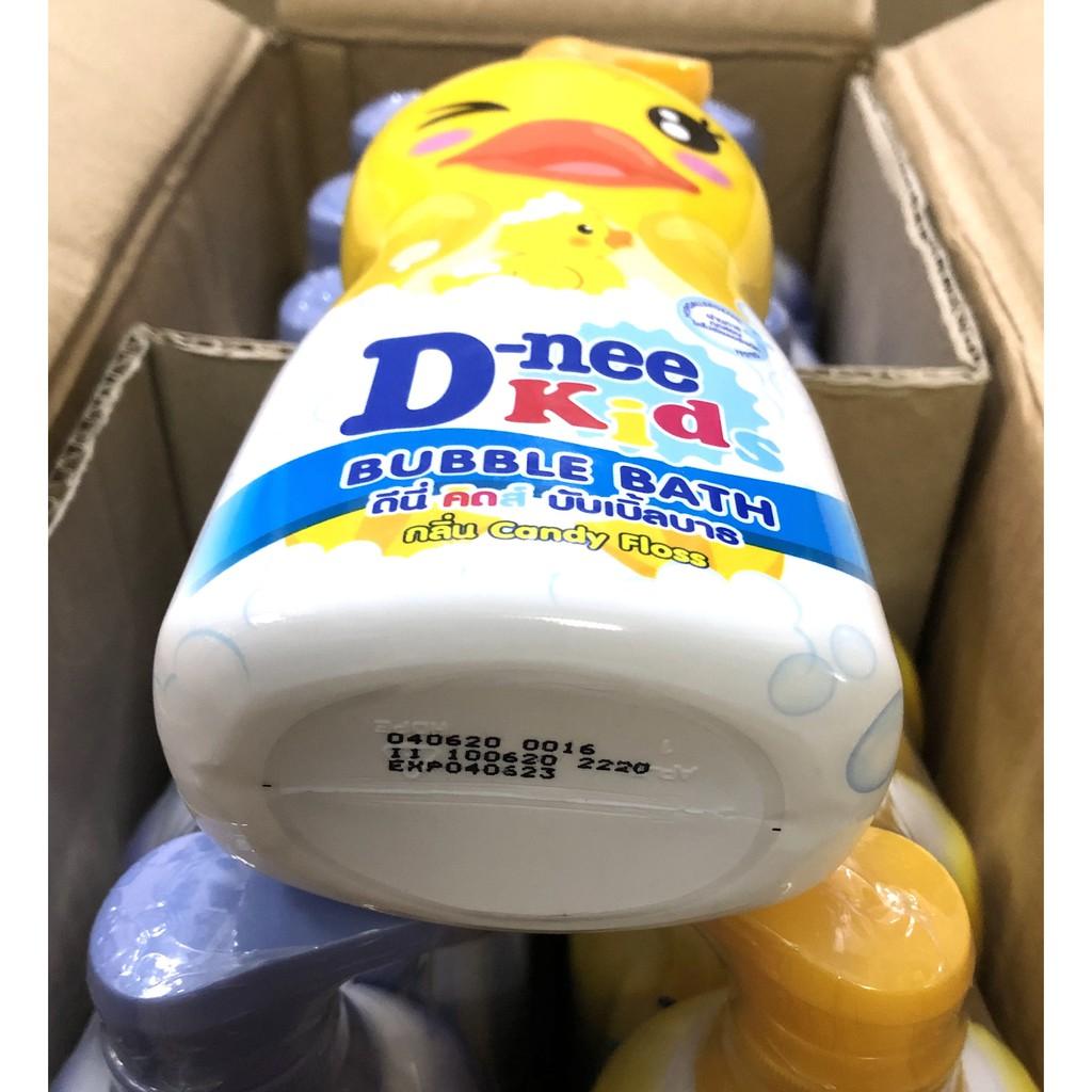 Sữa tắm gội Dnee Kid hình thú 400ml Thái Lan (date 01/2024, có 4 màu)