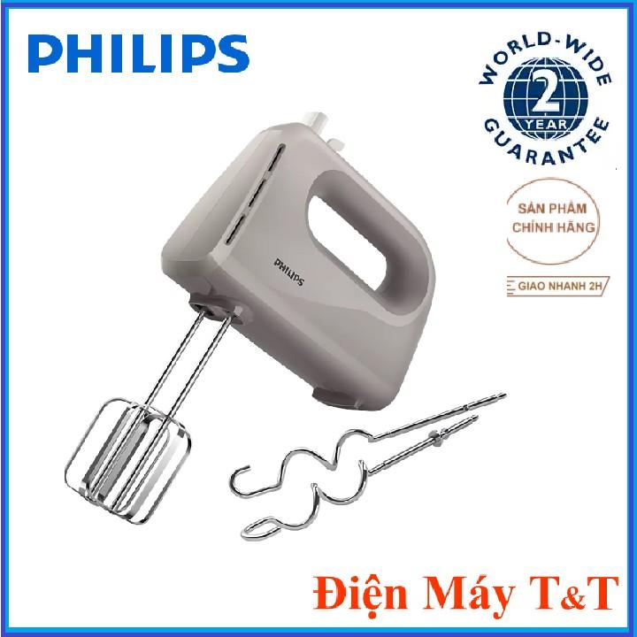 [Mã 267ELSALE hoàn 7% đơn 300K] Máy Đánh Trứng Cầm Tay Philips HR3705 - Hàng chính hãng