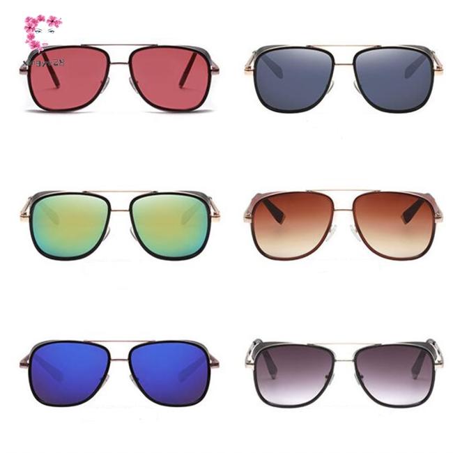 Stylish Unique Retro Unisex Full Metal Frame Sunglasses