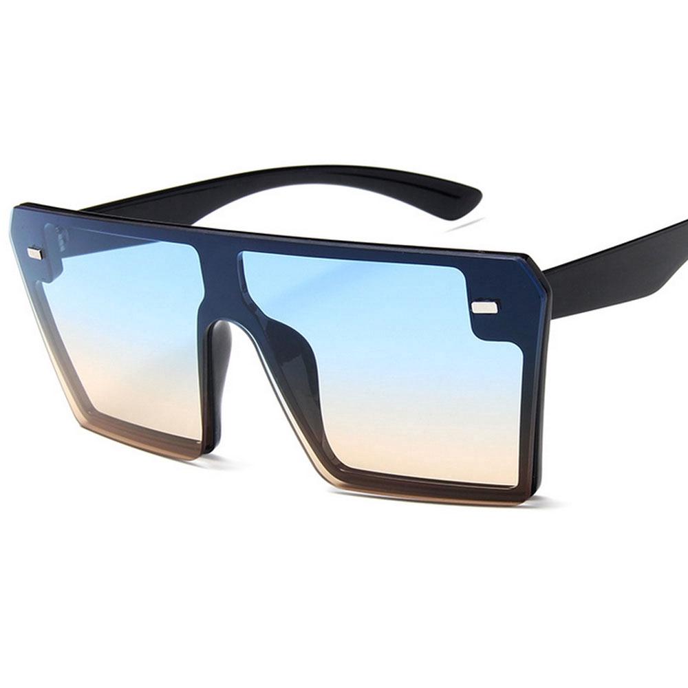 ★ New European and American big box colorful mercury sunglasses retro square personality sunglasses ♥