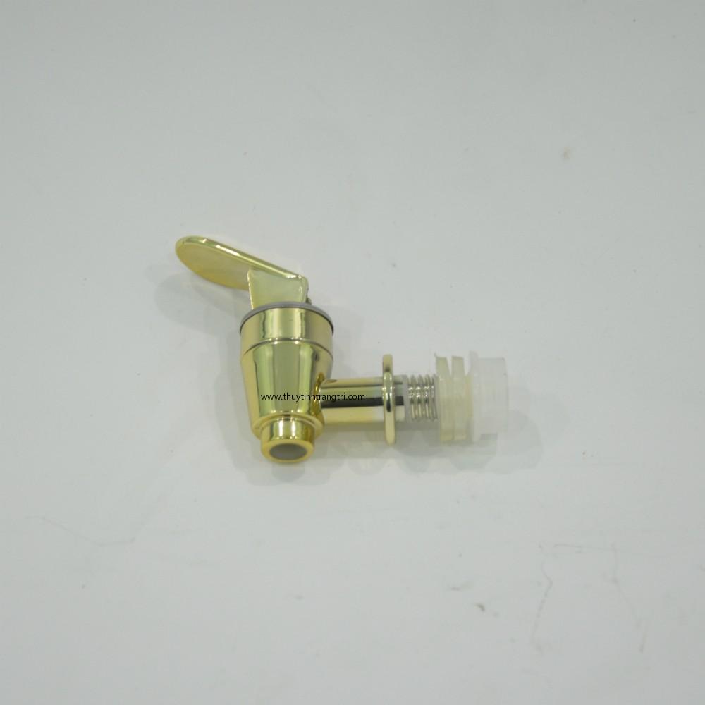 van nhựa 12mm vòi nhựa 12mm mạ vàng và đỏ