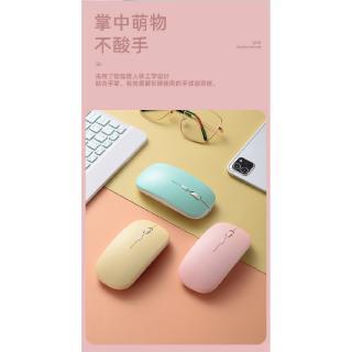 Hình ảnh GOOJODOQ Bộ bàn phím + chuột máy tính không dây bluetooth nhiều màu sắc nhỏ gọn cho iPhone/ iPad (có bán lẻ bàn phím)-7