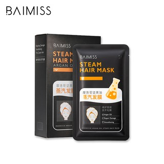 BAIMISS Hair Conditioner Essence Repair Frizz Rare Plant Essential Oil 35g x 5pcs thumbnail