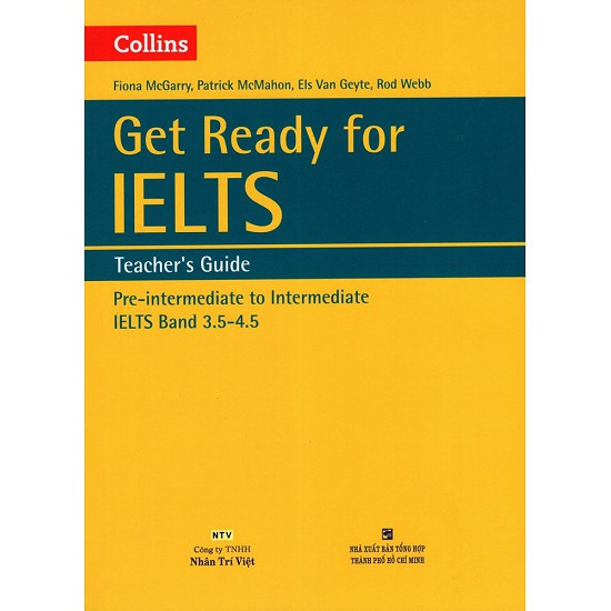 Sách - Collins Get Ready For Ielts Teacher