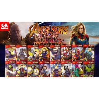 ✨✨ Set 16 Lắp ráp Siêu anh hùng AVENGERS – Cuộc chiến vô cực ✨✨ Decool 0297->0312 ✨✨