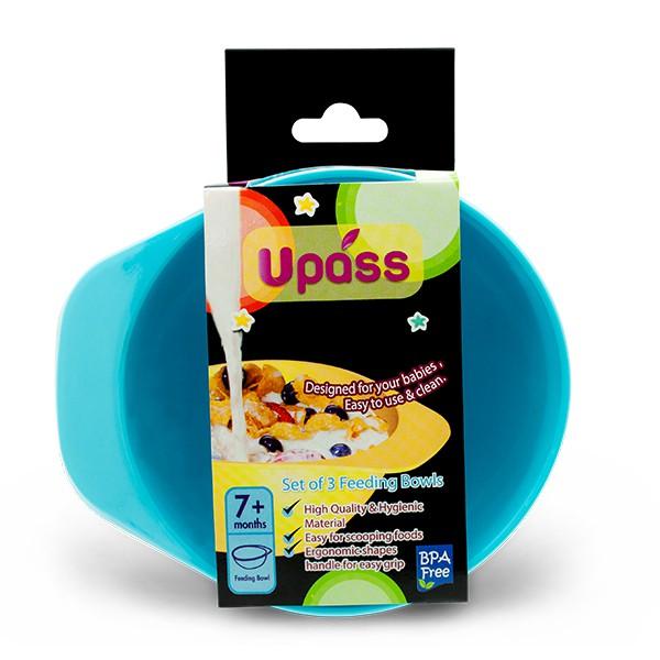 Bát nhựa ăn dặm cho bé cao cấp Upass UP5184N