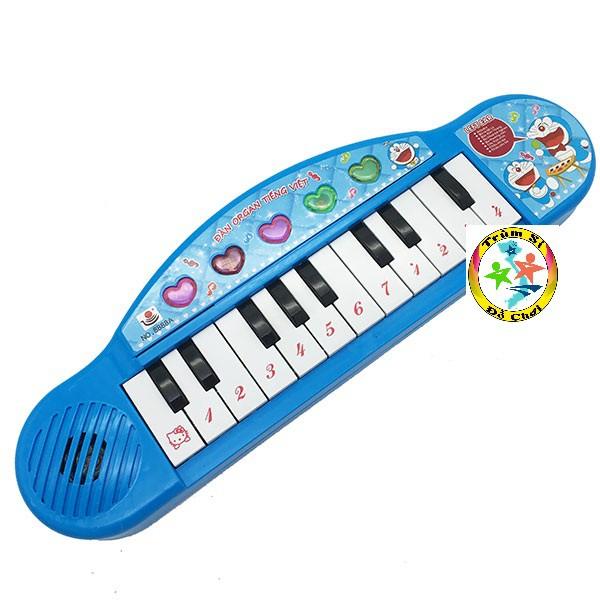 Đồ chơi đàn Organ tiếng Việt dùng pin