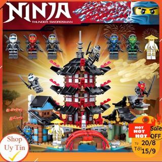 [KHAI TRƯƠNG 294K] Đồ Chơi Lắp Ráp Lê Gô Lego Ninjago 💖 Chuỗi Đồ Chơi Lắp Ráp Lê Gô cho bé từ 6 Tuổi